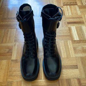 Aldo Leather Combat boot